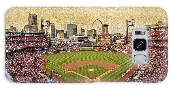St. Louis Cardinals Busch Stadium Texture 9252 Galaxy Case