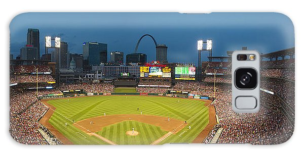 St. Louis Cardinals Busch Stadium Pano 5 Galaxy Case