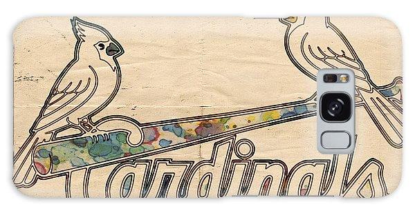 St Louis Cardinals Poster Art Galaxy Case by Florian Rodarte