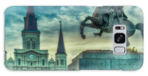 St. Louis Cathedral And Andrew Jackson- Artistic Galaxy Case