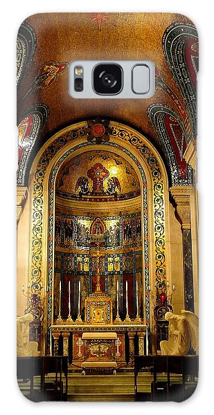 St Louis Cathedral Basilica Galaxy Case by Cindy Croal