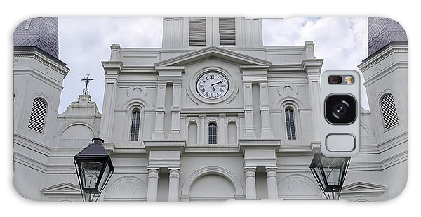 St. Louis Cathedral Close-up Galaxy Case