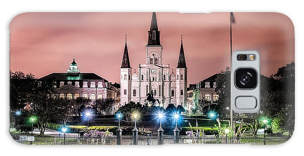 St. Louis Cathedral In The Morning Galaxy Case