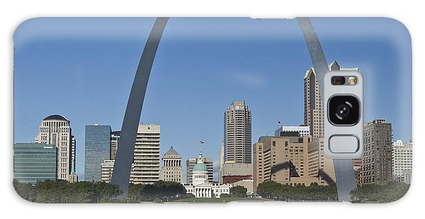 St Louis Skyline Galaxy Case