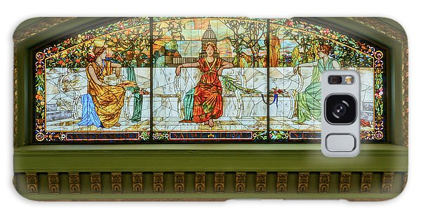 St Louis Union Station Allegorical Window Galaxy Case by Greg Kluempers