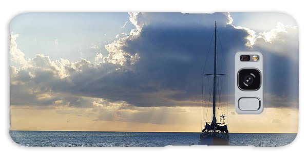 St. Lucia - Cruise - Sailboat Galaxy Case by Nora Boghossian
