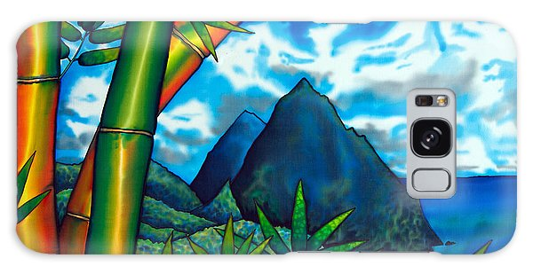 St. Lucia Pitons Galaxy Case