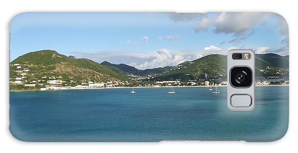 St Maarten At A Distance Galaxy Case by Jean Marie Maggi
