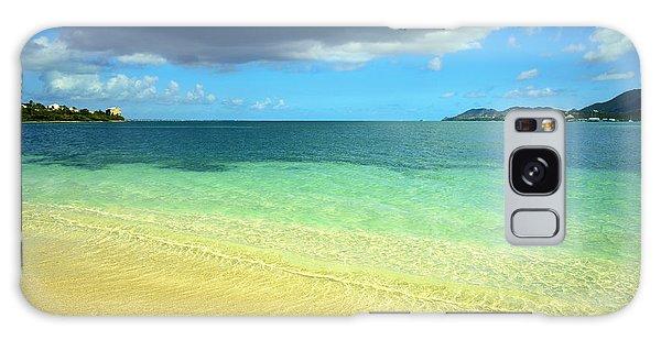 St. Maarten Tropical Paradise Galaxy Case