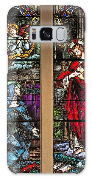 St. Margaret Mary Alacoque And Sacred Heart Of Jesus Galaxy Case