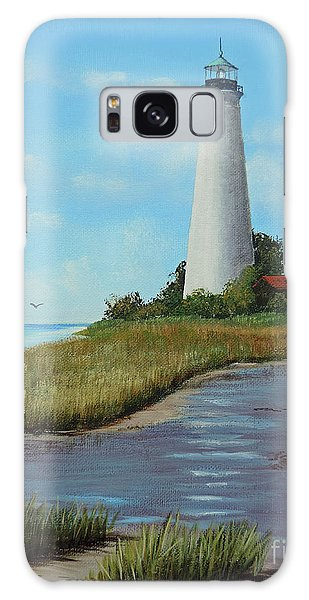 St. Mark's Lighthouse Painting Galaxy Case
