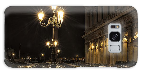 St Mark's Square At Night Galaxy Case by Marion Galt