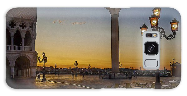 St Marks Square Galaxy Case