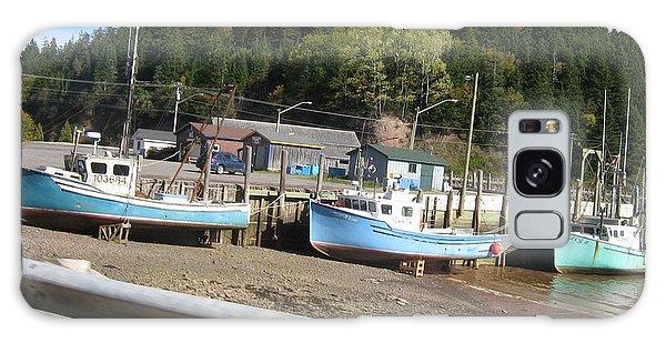 St-martin's Fishing Fleet Galaxy Case by Francine Heykoop