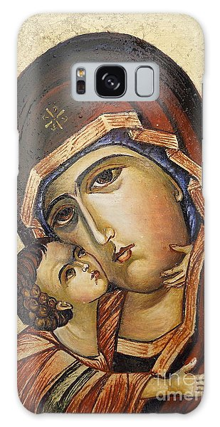 St. Mary And Jessus Galaxy Case