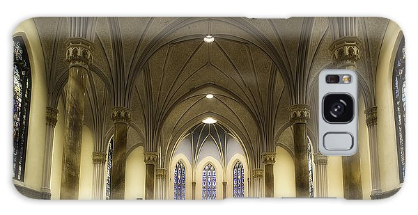 Galaxy Case featuring the photograph St Mary's Catholic Church by Lynn Geoffroy
