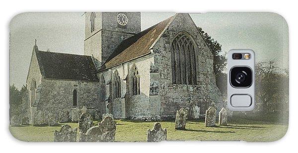 St Marys Church Dinton And Churchyard Galaxy Case