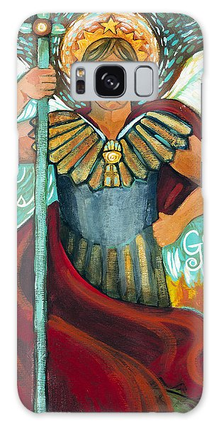 St. Michael The Archangel Galaxy Case
