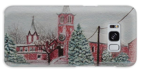 St. Nicholas Church Roebling New Jersey Galaxy Case