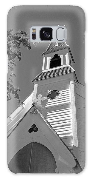St. Paul's Church Port Townsend In B W Galaxy Case