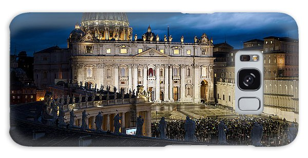 St Peters Basilica Rome Galaxy Case