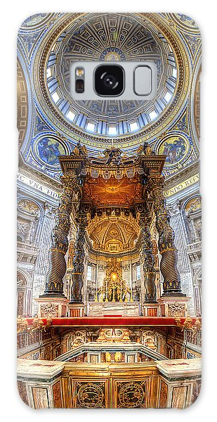 St Peter's Basilica Galaxy Case
