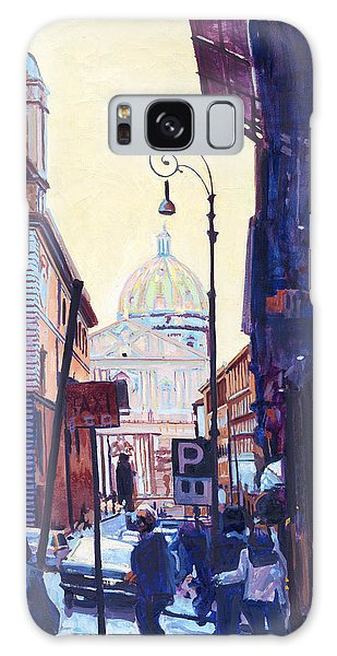 St. Peters Galaxy Case by David Randall