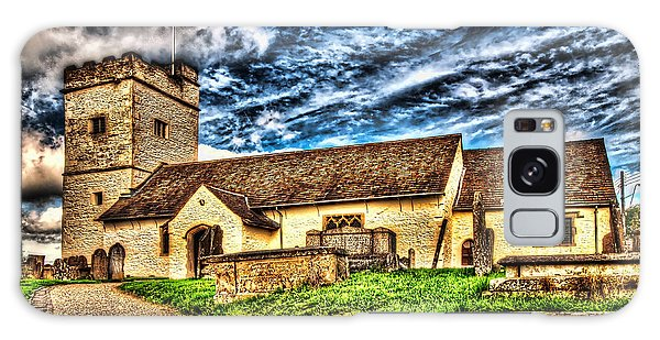 St Sannans Church Bedwellty Galaxy Case
