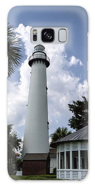 St. Simon's Island Georgia Lighthouse Galaxy Case