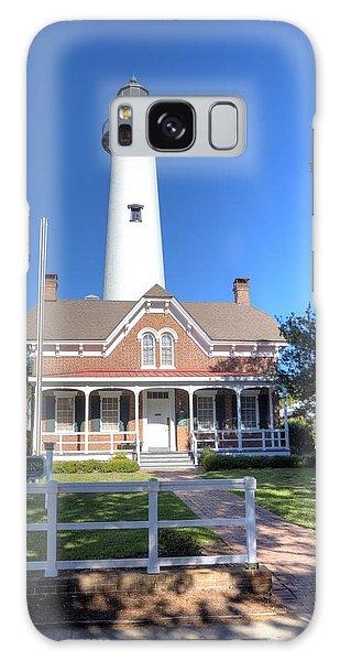 St. Simons Island Light Station Galaxy Case