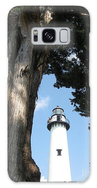 St. Simon's Lighthouse Galaxy Case