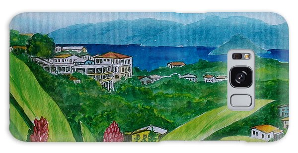 St. Thomas Virgin Islands Galaxy Case