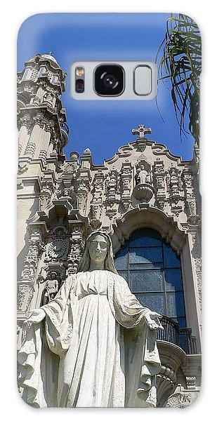 St. Vincent De Paul Church Galaxy Case by Jeff Lowe