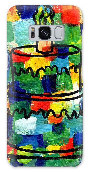 Stl250 Birthday Cake Abstract Galaxy Case by Genevieve Esson