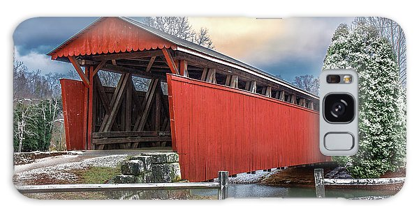 Staats Mill Covered Bridge Galaxy Case