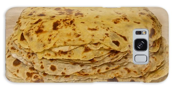 Stack Of Lefse Rounds Galaxy Case