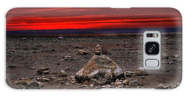 Stacked Beach Rocks Galaxy Case