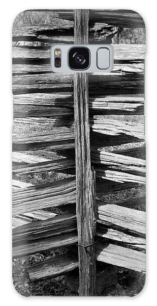Stacked Fence Galaxy Case by Lynn Palmer