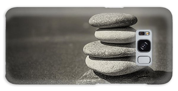 Rock Galaxy Case - Stacked Pebbles On Beach by Elena Elisseeva