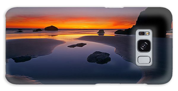 Stone Galaxy Case - Stacks And Stones by Mike  Dawson