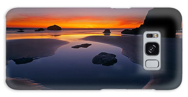 Tides Galaxy Case - Stacks And Stones by Mike  Dawson