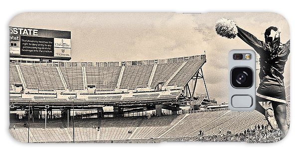 Penn State University Galaxy Case - Stadium Cheer Black And White by Tom Gari Gallery-Three-Photography