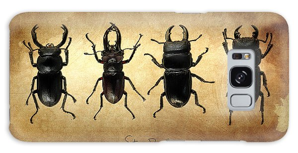 Stag Beetles Galaxy Case by Mark Rogan