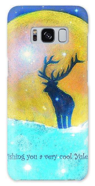 Stag Of Winter Galaxy Case