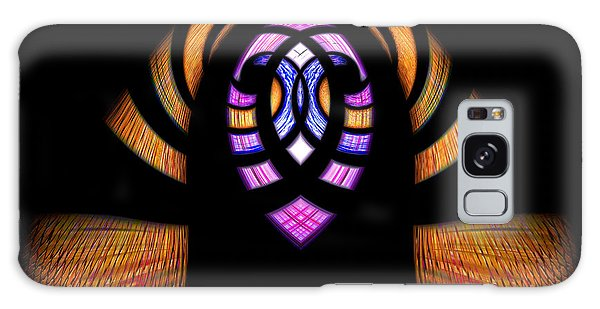 Stained Glass Abstract Galaxy Case by Sue Stefanowicz