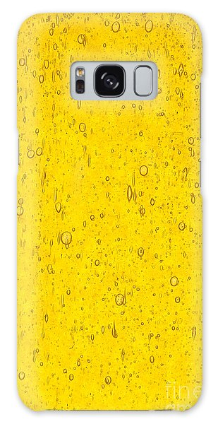 Stained Glass Abstract Yellow Galaxy Case