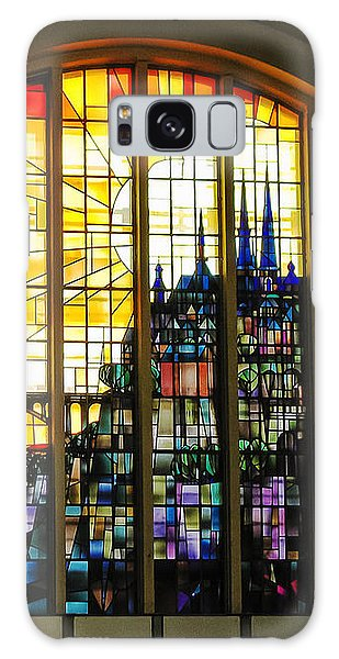 Stained Glass Luxembourg Galaxy Case by Victoria Harrington
