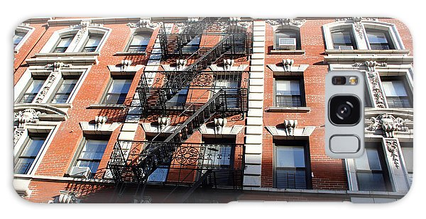 Stairs And Windows Galaxy Case by Mary Haber