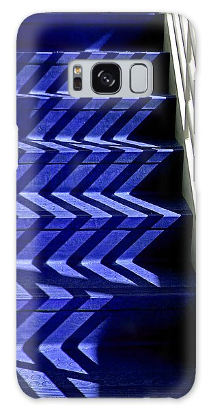 Stairs Of Blue Galaxy Case