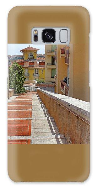 Stairway In Monaco French Riviera Galaxy Case